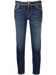 Jeans Dsquared2 CROPPED TWIGGY JEAN